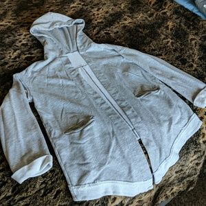 Cozy hooded cardigan